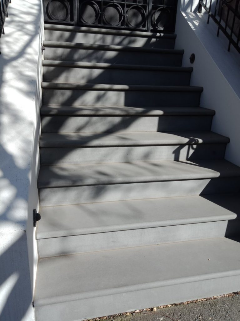 stones customised for staircase